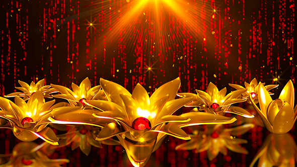 Gold Flower