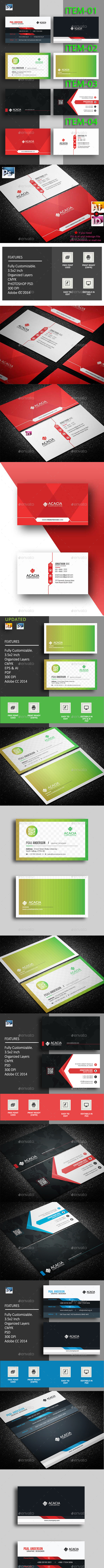 B. Card Bundle_17 (04 items) - Corporate Business Cards