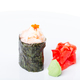 Traditional japanese gunkan sushi with snow crab. - PhotoDune Item for Sale