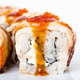 Traditional japanese sushi roll with smoked unagi. - PhotoDune Item for Sale
