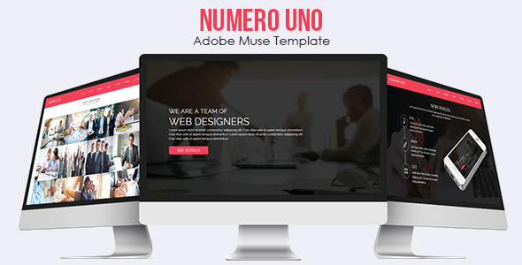 Numero Uno - Adobe Muse Template