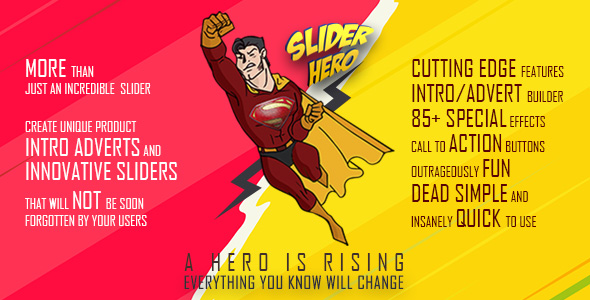 CodeCanyon Slider Hero WordPress Slider Plugin and Intro Maker 21209630