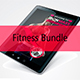 Fitness & Yoga E Book Bundle - GraphicRiver Item for Sale