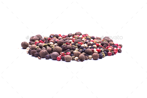 Colored Peppers Mix - Stock Photo - Images