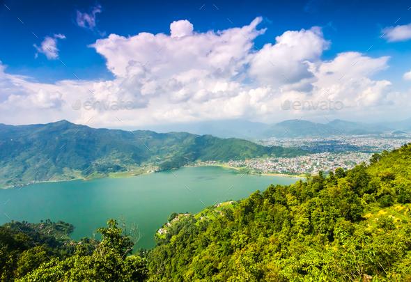 Beautiful Asian landscape - Stock Photo - Images