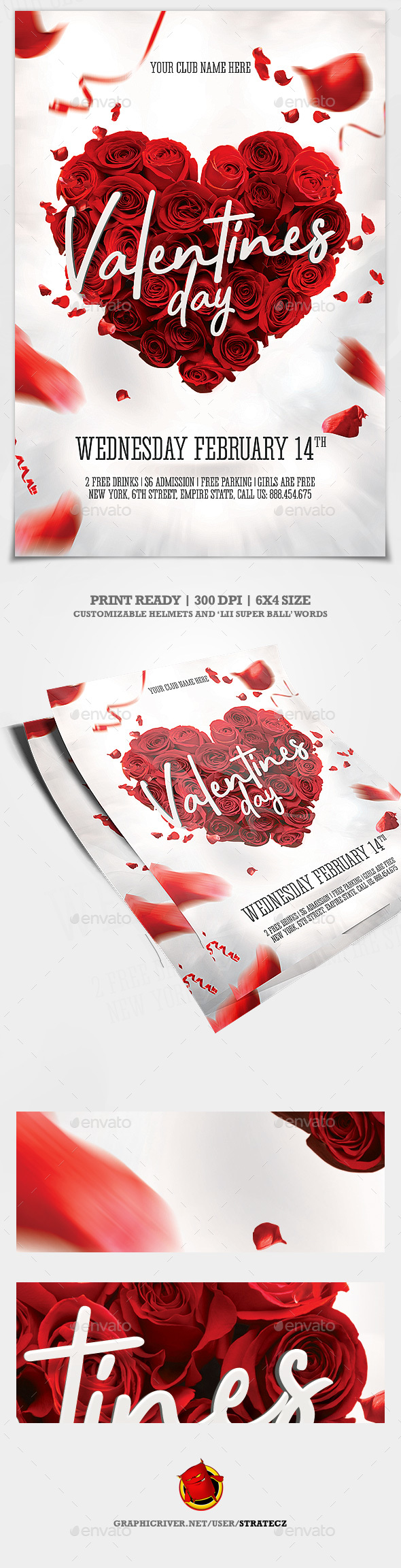 Valentines Day - Print Templates