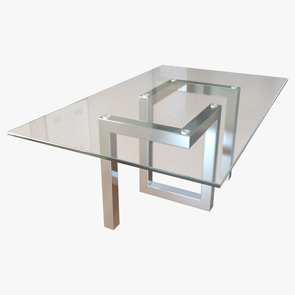 Coffee Table Antonio Lareto - 3DOcean Item for Sale