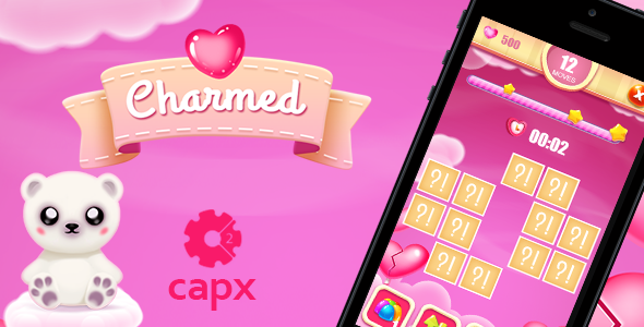 Charmed Memory Game - CodeCanyon Item for Sale