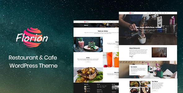 Florion - Restaurant & Cafe Woocommerce WordPress Theme - Food Retail