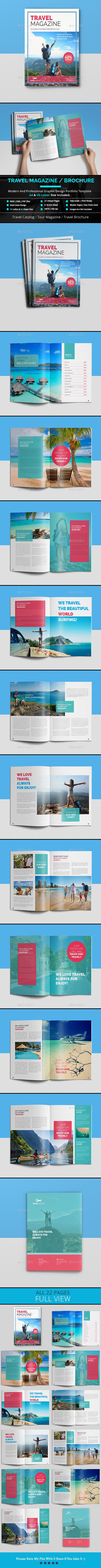 Travel Magazine / Cataloge - Magazines Print Templates