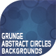 Grunge Abstract Circles Backgrounds - GraphicRiver Item for Sale