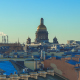 panorama on the roofs in St. Petersburg - VideoHive Item for Sale