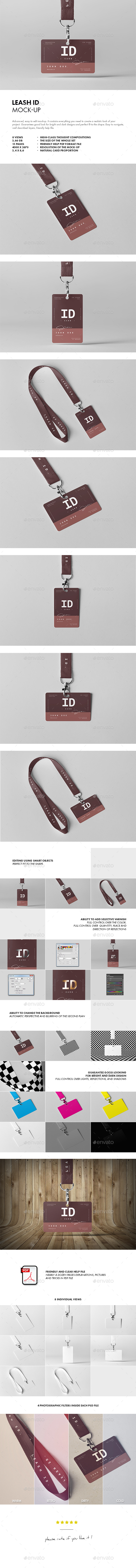 Leash ID Mock-up - Miscellaneous Print