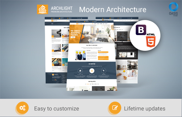 ArchLight - Responsive HTML Architecture and Construction Template - Corporate Site Templates