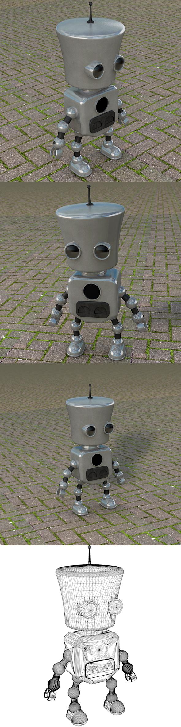 Robot Dude - 3DOcean Item for Sale