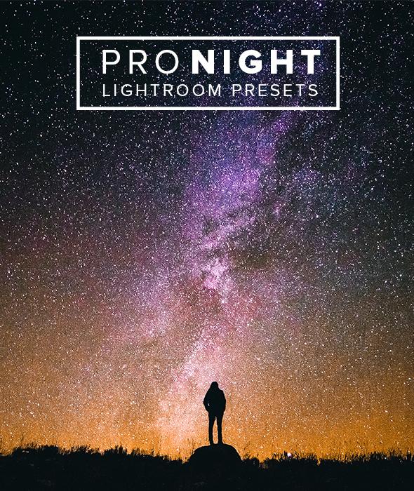 Pro Night Lightroom Presets - Lightroom Presets Add-ons