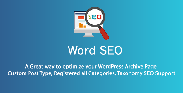 CodeCanyon Word SEO WordPress SEO archive pages custom post type and taxonomies 21250824