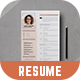 Resume Template | CV Template - GraphicRiver Item for Sale