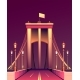City Night Bridge - GraphicRiver Item for Sale