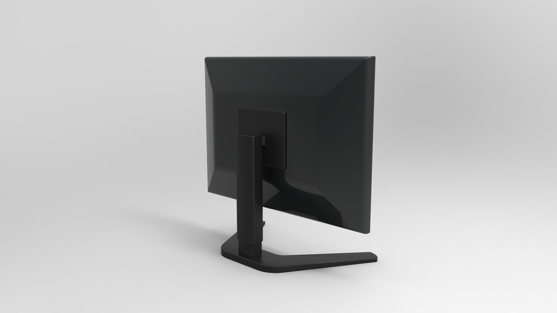 GeyiG - Realistic Monitor 3D Model