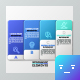 Futuristic Abstract Paper Infographics (2 Colors) - GraphicRiver Item for Sale