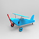 GeyiG - Plastic Toy Plane 3D Model - 3DOcean Item for Sale