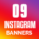 Instagram Banners - 09 Design - GraphicRiver Item for Sale