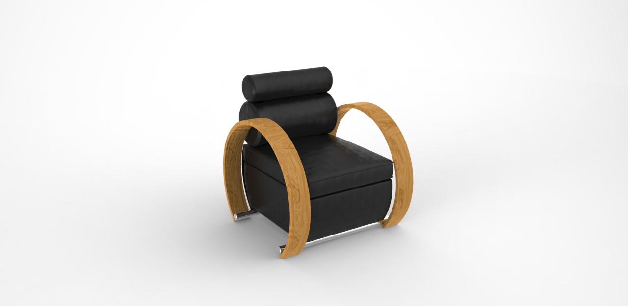 GeyiG - Single seat, Bergere 3D Modelling
