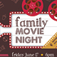 Family Movie Night Flyer - GraphicRiver Item for Sale