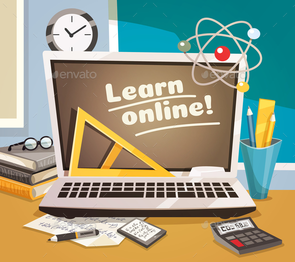 Online Learning Design Concept - Computers Technology