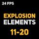 Liquid Elements Explosions 11-20