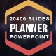 Planner Powerpoint Presentation Template - GraphicRiver Item for Sale