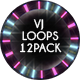 VJ Light Spheres Loops Ver.2 - 12 Pack - VideoHive Item for Sale