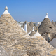 Conical rooftop sof the trullis in Alberobello - PhotoDune Item for Sale