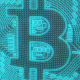 Bitcoin Digital Glitch Background Loop - VideoHive Item for Sale