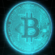 Bitcoin Digital Crypto Background Loop - VideoHive Item for Sale