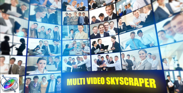 VideoHive Multi Video Skyscraper Corporate Template Apple Motion 21251877