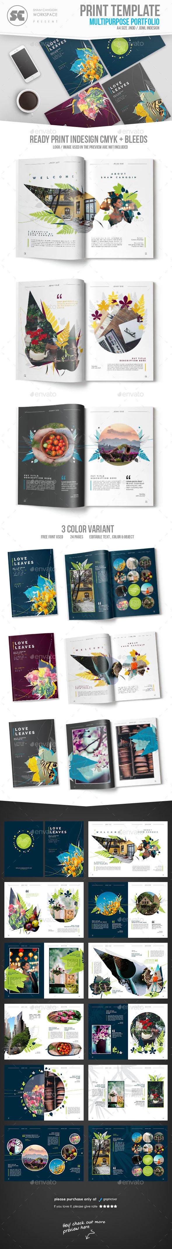 Multipurpose Creative Portfolio - Portfolio Brochures