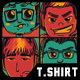 Type of Gamer T-Shirt Design - GraphicRiver Item for Sale