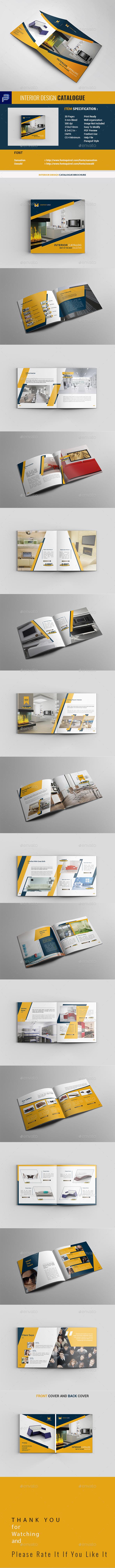 Square Interior Catalogue Brochure - Catalogs Brochures