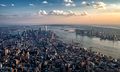 Flying over New York City - PhotoDune Item for Sale