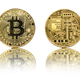 Bitcoin gold coin on white - PhotoDune Item for Sale