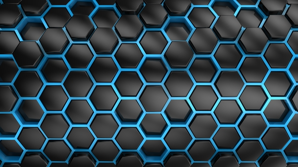 VideoHive Background From Hexagons 21252278