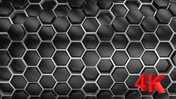 VideoHive Background From Hexagons 21252301