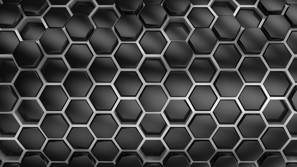 VideoHive Background From Hexagons 21252314
