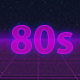 80s Retro Background