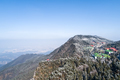 aerial view of lushan mountain in winter - PhotoDune Item for Sale