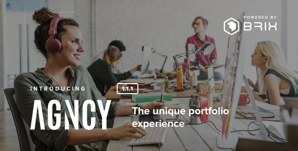 Image of Agncy - Creative & Modern Portfolio WordPress Theme