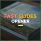 Fast Slides Logo Reveal - VideoHive Item for Sale
