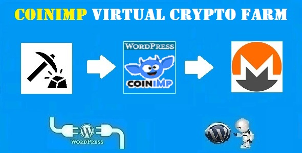 CodeCanyon CoinImp Virtual Crypto Farm Plugin for WordPress 21252821